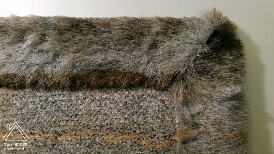The House that Will | DIY Faux Fur Throw