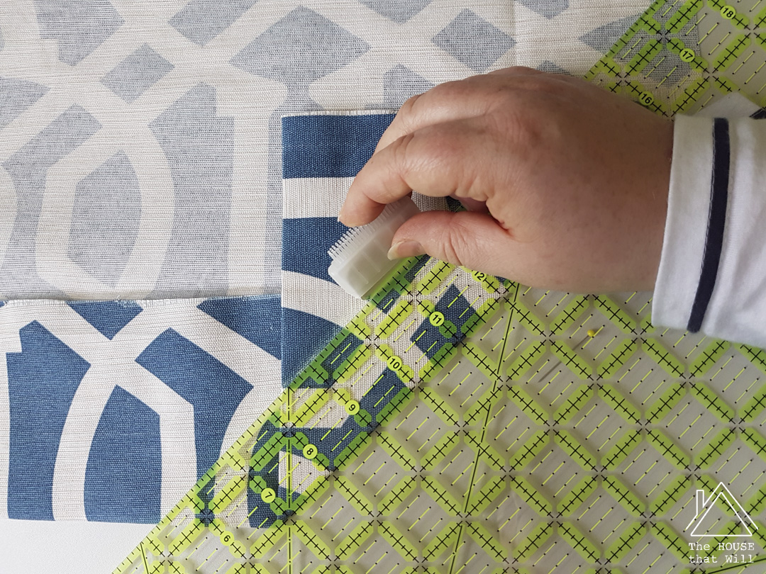 The House that Will | Making Your Own DIY Lined Curtains with Thermal Lining