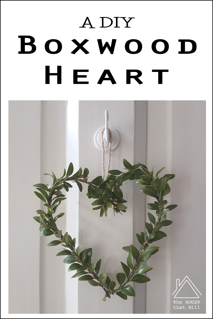 The House that Will | Boxwood Heart Valentine's Day Home Decor
