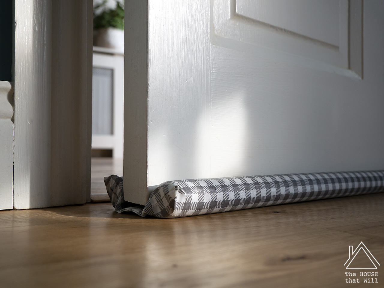 The House that Will | DIY Draught Excluder for Doors - eliminate drafts