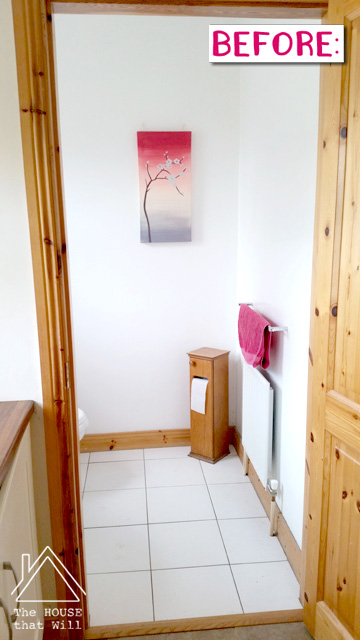 The House that Will | Loo Makeover: Before