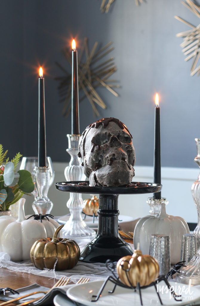 Haunted Halloween Table Decor Ideas | Inspired by Charm