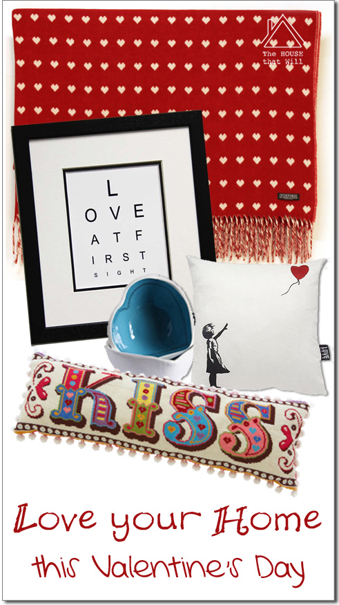 The House that Will | Love Your Home this Valentine's Day