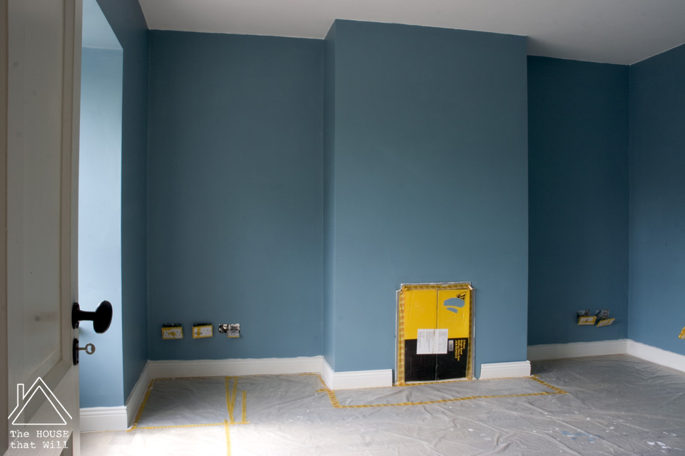 The House that Will | Sitting Room Makeover: The Optical Illusions of Paint