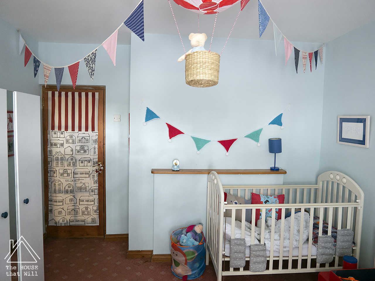 The House that Will | Budget Decor: €75 Boys' Bedroom decorating for kids