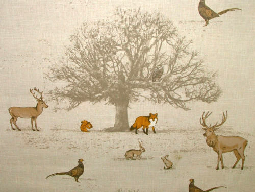 Fryetts Tatton Autumn Fabric