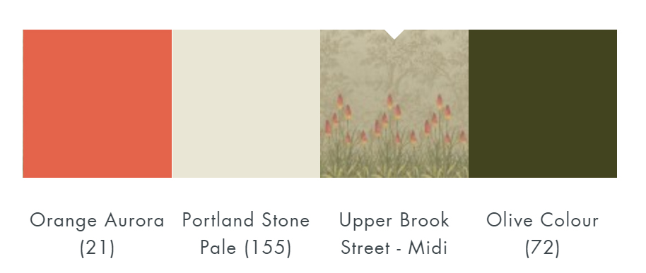 Little Greene Upper Brook St - Midi