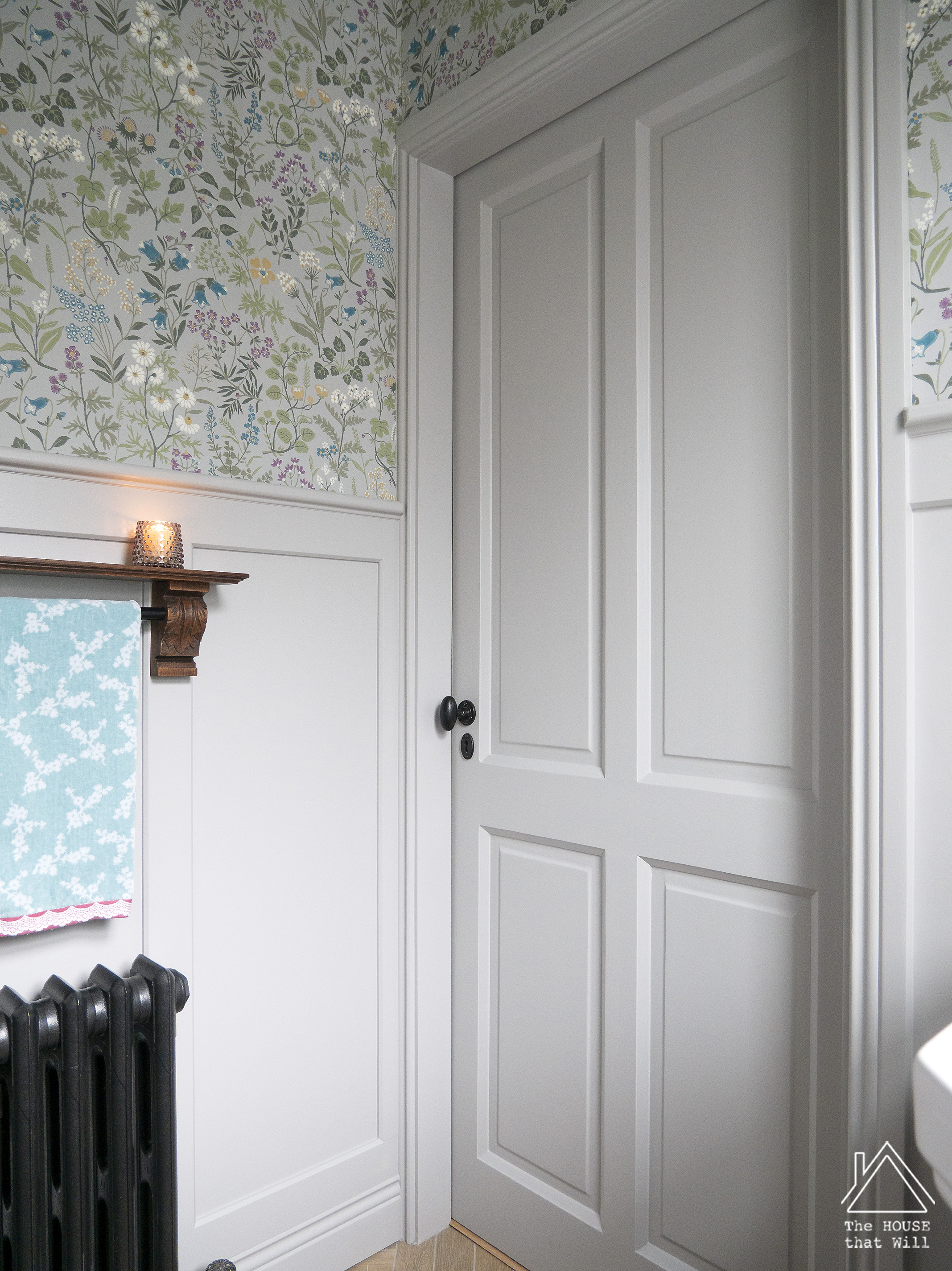 The House that Will | Downstairs Loo Powder Room Half Bath Room Reveal (One Room Challenge)
