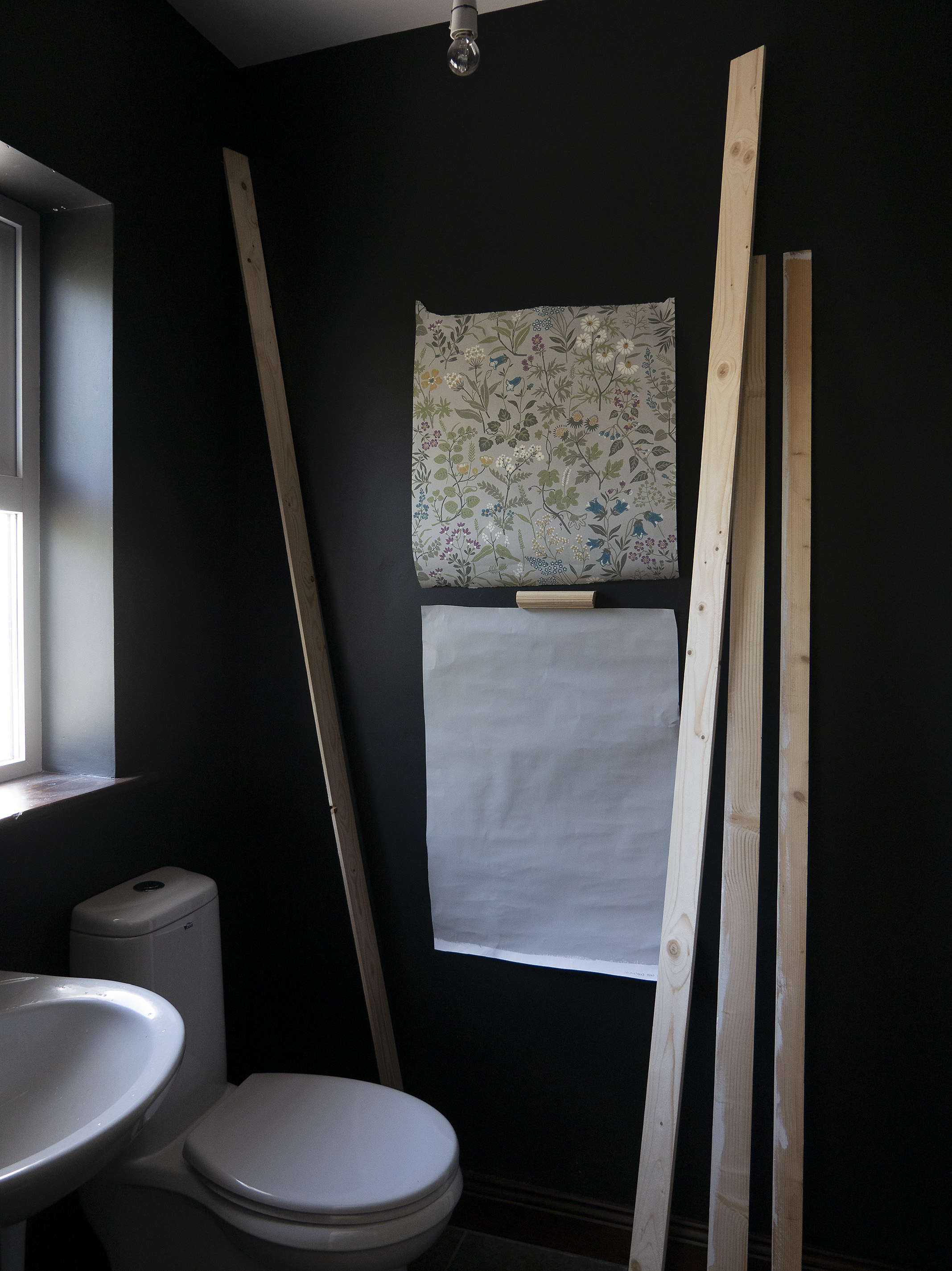 The House that Will | One Room Challenge, Downstairs Loo, Week 2 Progress