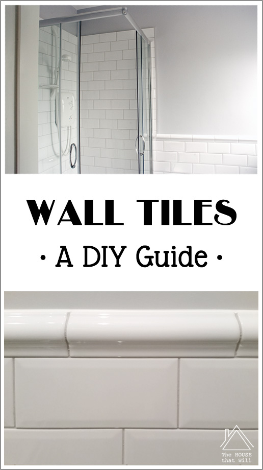 A diy guide to fixing bathroom wall tiles.
