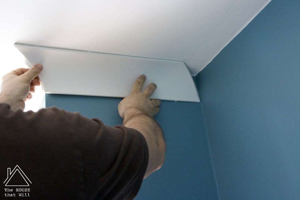 The House that Will | DIY Coving Installation - How to Install Coving