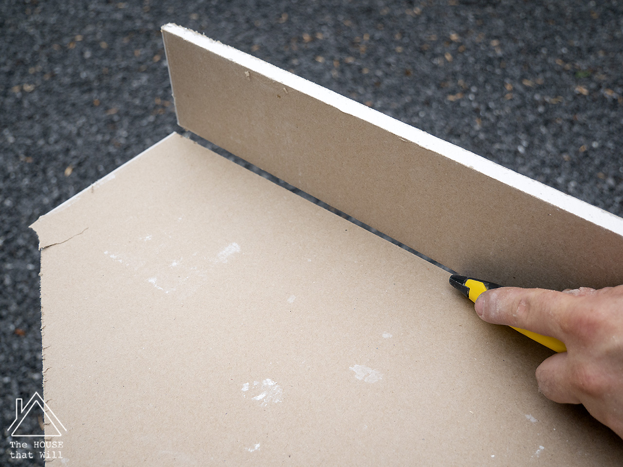 The House that Will | How to Build a DIY Stud Wall with Plasterboard
