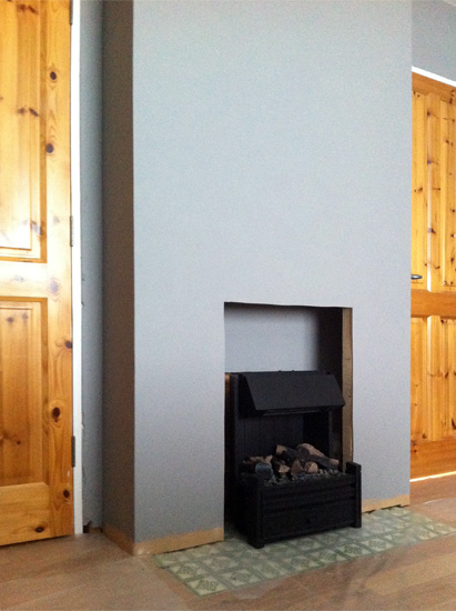 The House that Will | DIY Working Fireplace Without a Chimney (electric fire)