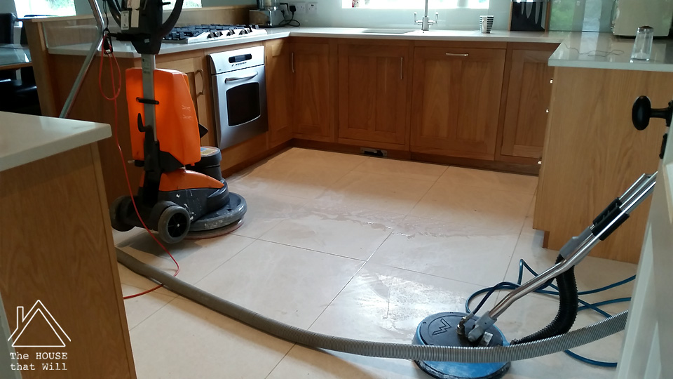 The House that Will | Stone Floor Restoration