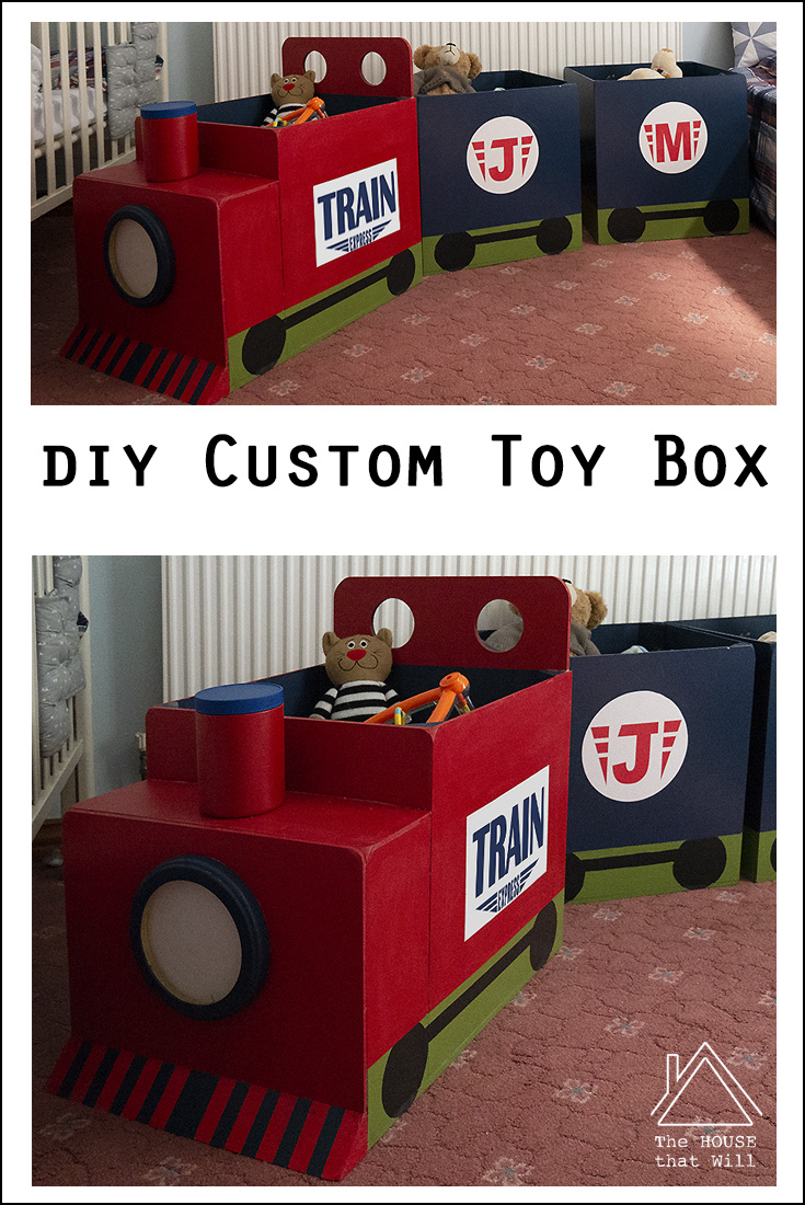 The House that Will | DIY Custom Toy Box