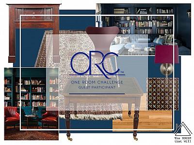 One Room Challenge: Library (Week 1)