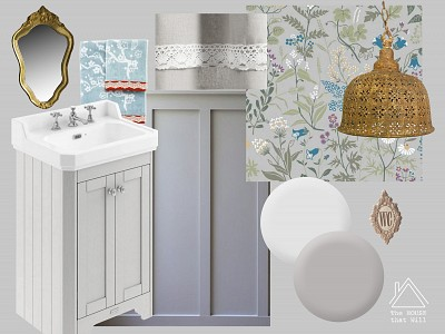 One Room Challenge: Downstairs Loo, Week 1